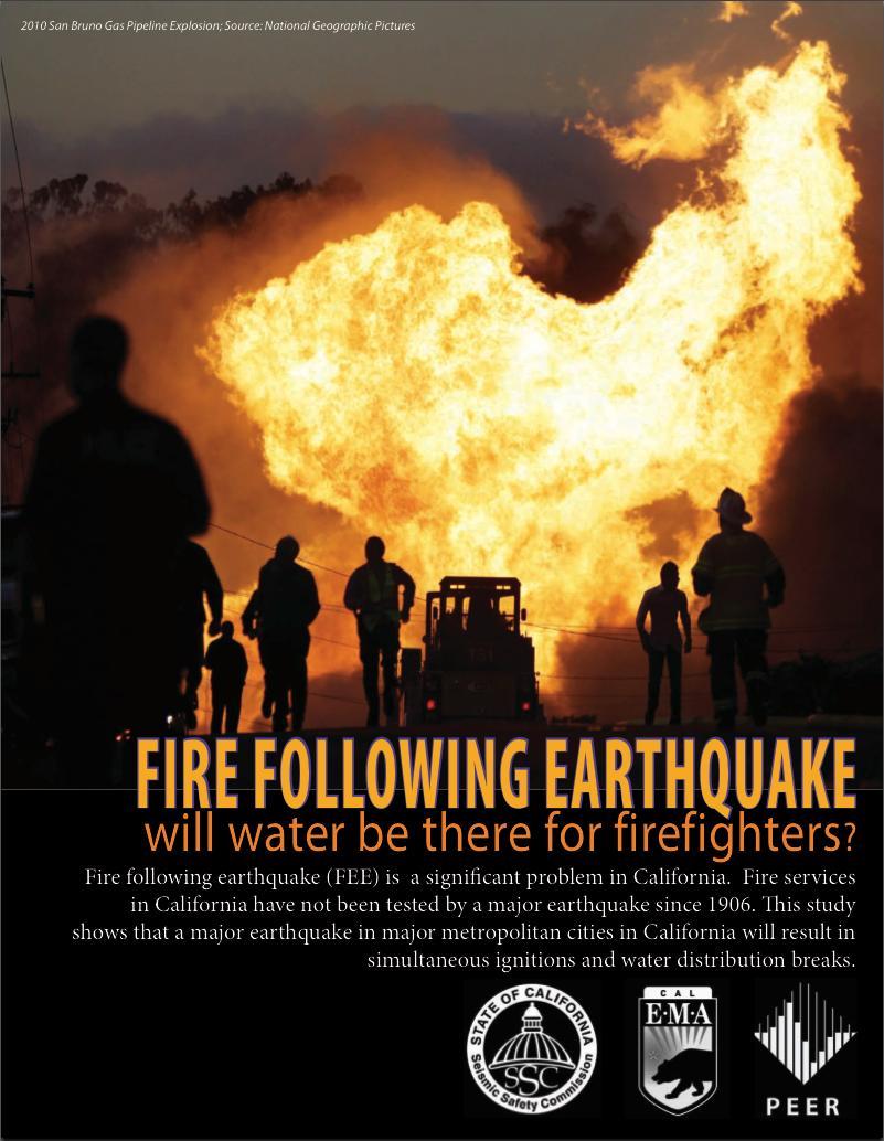 Fire Following Earthquake