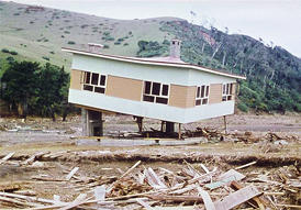 Destroyed by the tsunami by Rodolfo Schild, Steinbrugge Collection, S1791