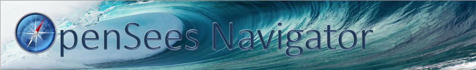 OpenSees Navigator