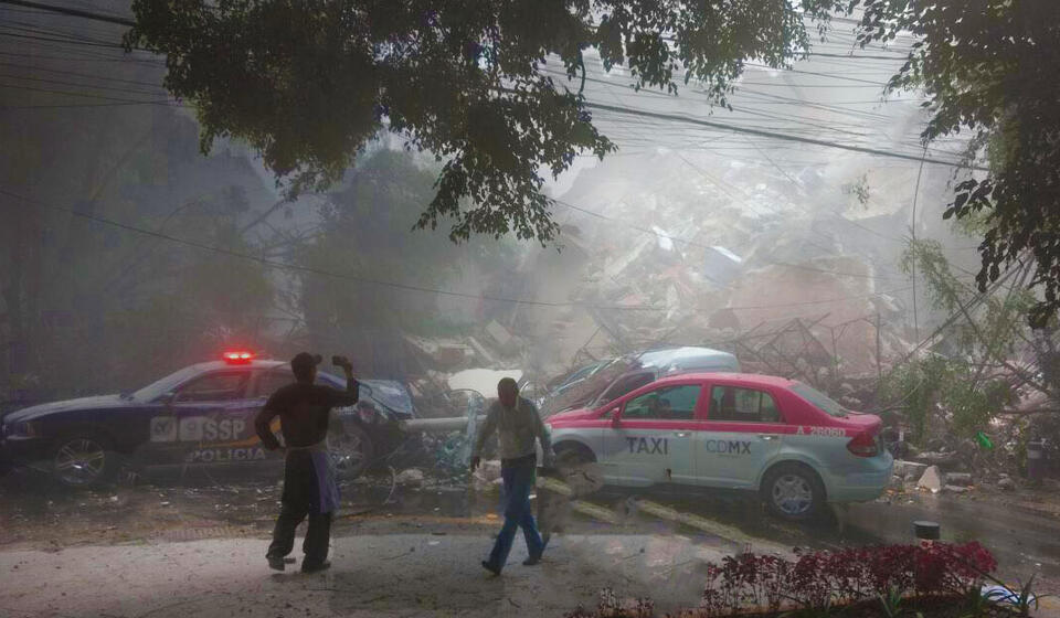 image of Mexico City Earthquake