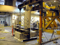 PEER Lab Test - Caltrans-Design Bridge Column