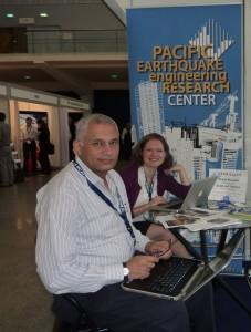 Khalid Mosalam and Heidi Tremayne