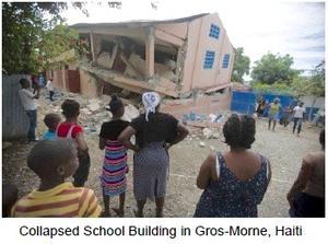 StEER PVAT Haiti earthquake school