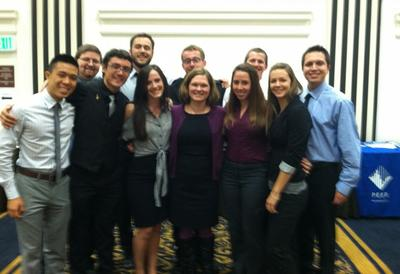 Heidi Tremayne with interns